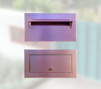 Copper Letter Box : door letterboxes - pezcame.com