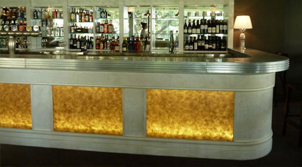 Zinc-top bar, Mosman Hotel