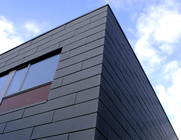 Flat Lock Zinc and Copper Cladding